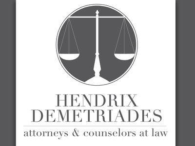 Hd Law logo design identity branding