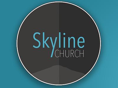 Skyline Church Logo  logo design identity branding