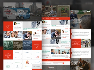 Revolution.com investment firm venture capital user experience user interface ui web design ux art direction photography creative strategy