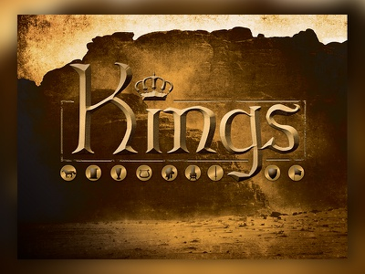 Kings Series Graphic design church series typography graphic