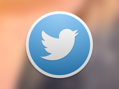 Twitter for Mac Icon Replacement el capitan capitan el icons twitter icon yosemite mac os osx