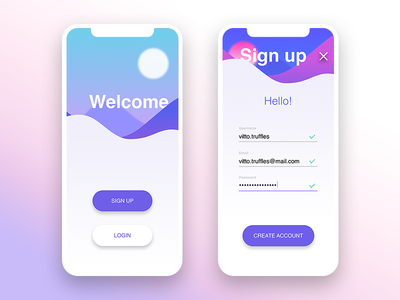 Daily UI #001 • Sign Up