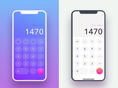 Daily UI #004 • Calculator