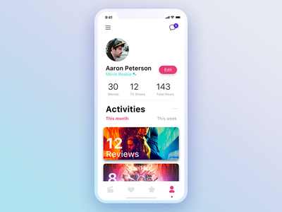 Daily UI #006 • User Profile