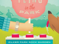 Spring Fling in the Park poster