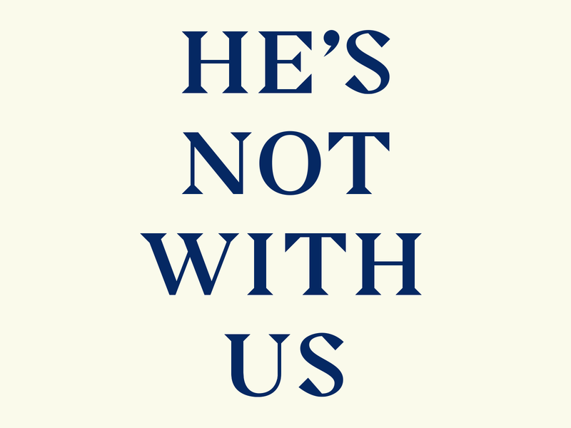 Not with US politics bold protest type custom type serif typography