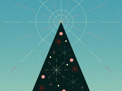 Christmas 2020 ornaments star burst tree texture triangle christmas tree christmas