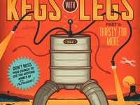 Kegs with Legs Part II Poster
