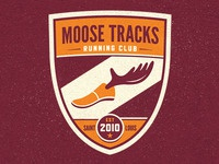 Moose Tracks Running Club Logo