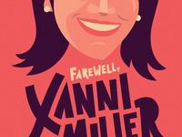 Xanni Farewell Poster