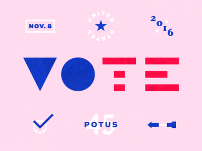 Vote! united states go vote 2016 november america potus election vote