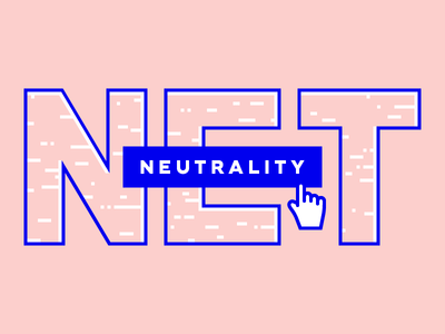 #fccfcc neutral typography 2017 blue hand cursor fcc internet open internet net neutrality