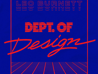 Join the Dept. of Design!