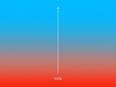 Rise Above voting election usa america politics gradient blue 2018 midterms election day vote