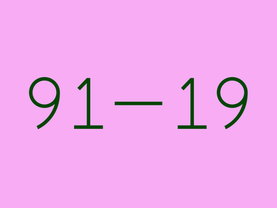 Palindrome Week 2019 eye custom type type pink blink animation 2019 eyeball palindrome week palindrome
