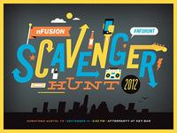 nFusion Scavenger Hunt 2012 Poster