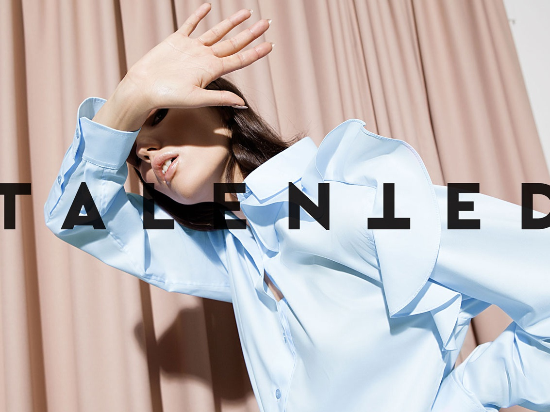 Graphic identity for TALENTED fashion branding fashion design vector logo branding