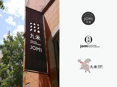 Jomi VI vi ci logo design