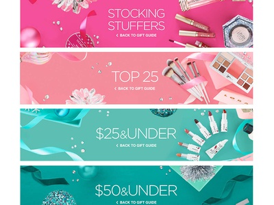Ulta gift guide - banners direction shooting