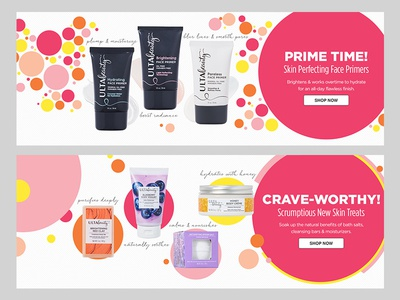 Ulta Banners for Spring