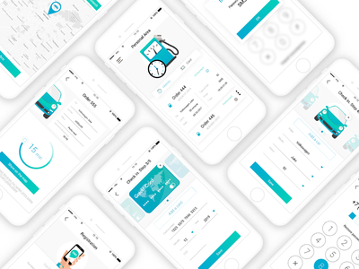 Design mobile app for the network of gas stations iphone mobile design app