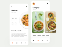 Calorie food tracking app