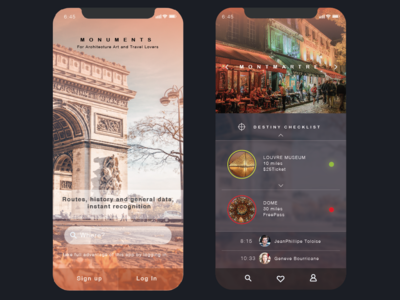 Monuments App