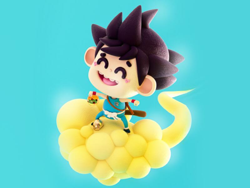 Dragón Ball birthday 🐉 esferas nube voladora kawaii anime kakaroto gokú esferas del dragón dragon ball dragonball