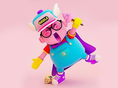 Majin Boo / Arale 💩 kawaii cute villano chocolate dbz dragon ball z dragon ball majin boo majinboo arale