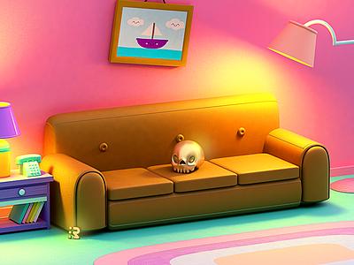 The Simpsons 😁✨ sofa the simpsons maggie lisa marge bart homero simpsons
