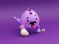 Baby dinosaur!! 🦖