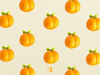 Peach wallpaper 🍑