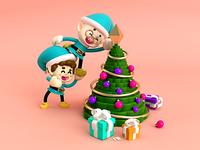 Duendes navideños 🎅🏼🙌🏼