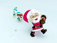 Santa y sus duendes navideños 🎅🏼🎄