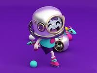 Roller/Astronaut boy!! 🚀