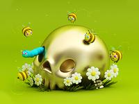 Skull Bee 💀🐝