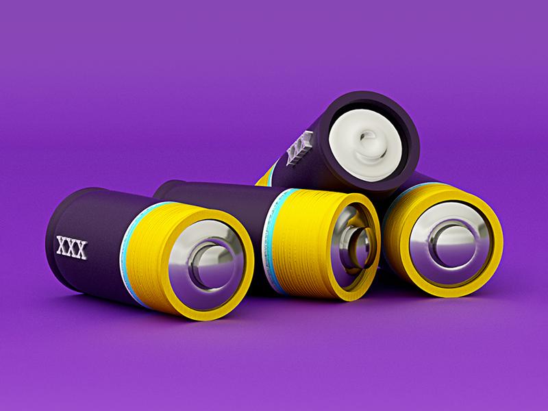 Pilas 🔋🔋 instagram dinámica purple xxx batería batery pilas