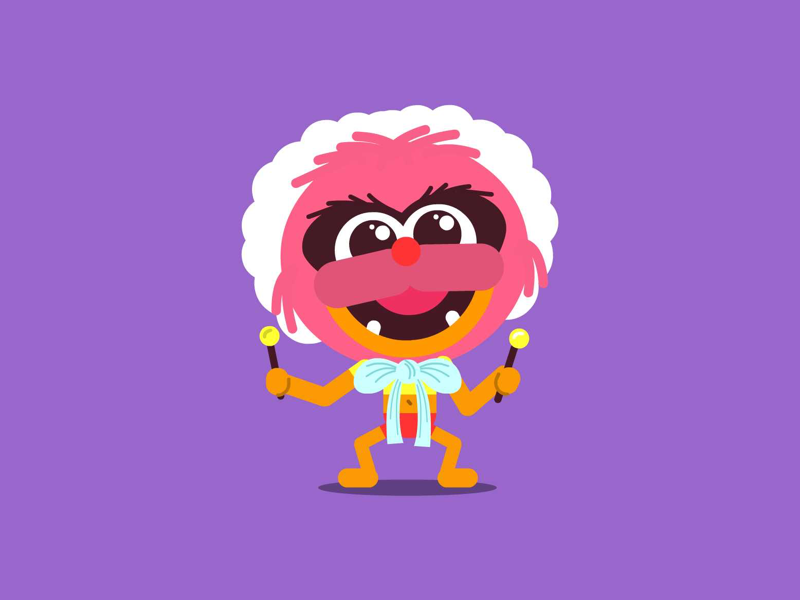 Animal 🐣 drummer wild baby muppets baby muppetbaby muppets animal