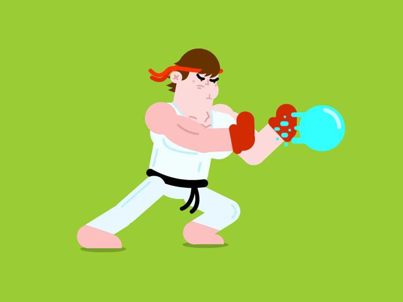 Street Fighter 💥 maquinita maquinitas ryustreetfighter ryu haduken luchas peleas streetfighter street fighter