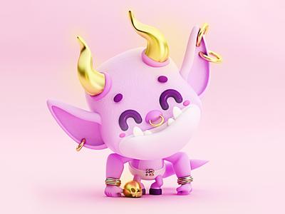 Cutie Monster 👹 mal bien good bad bad or good pictoplasma pictofolio cuernos demonio daemon demon evil devil monstro monstruo monsters monster