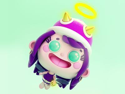 Purple hair fairy 🧚♀️