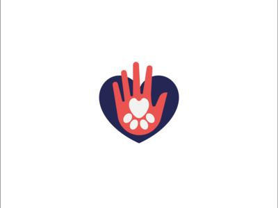 Pet care marketplace logomark - Opt2