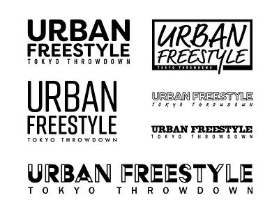 Urban Freestyle Type Design tokyo freestyle urban type typography