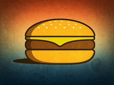 Burger burger vignette texture photoshop illustrator vector food