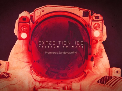 Expedition 100 Mission To Mars style board astronaut red planet rocket mars nasa space