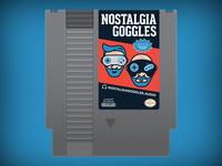 Nostalgia Goggles NES Cartridge
