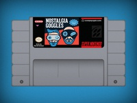 Nostalgia Goggles SNES Cartridge