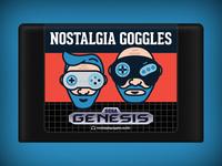 Nostalgia Goggles Genesis Cartridge