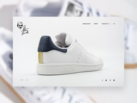 Concept Adidas Stan Smtih Website