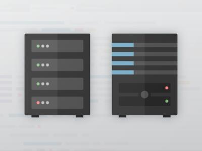 Illustration for Veeam — Servers vector icon veeam illustrator illustration